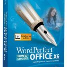 ★NEW Retail BOX★ Corel WORD PERFECT OFFICE X6 HOME & STUDENT - Install on Up to 3PC's
