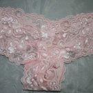 Lace Tanga Panites Lght Pink