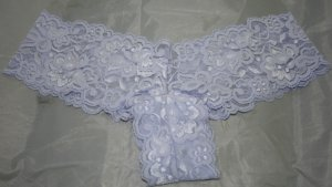 Lace Tanga Panties Lavendar