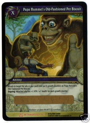 WOTLK CE TCG Loot Card Papa Hummel's In-Game Item Bonus