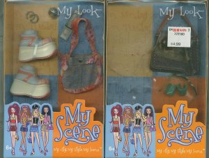 2 sets of My Scene My Look Accessories