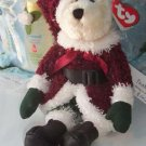 Ty Attic Treasures Santabear 2000