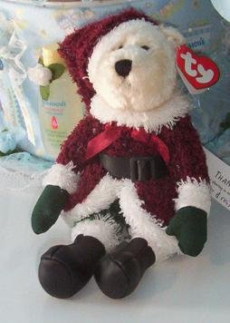 Ty Attic Treasures Santabear 2000