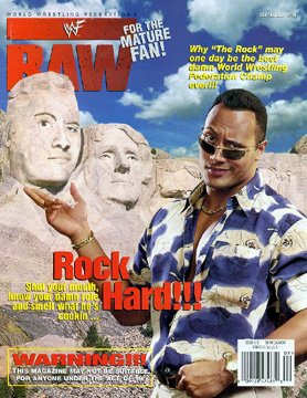 WWE WWF Raw Magazine Sept 98 The Rock Sable