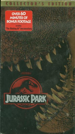 Collector's Edition Jurassic Park NEW Sealed