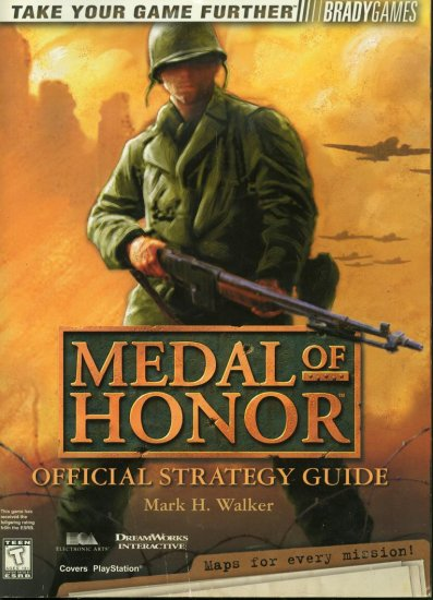 Medal Of Honor Offical Strategy Guide Brady Games