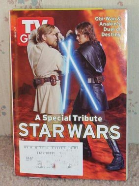 TV Guide Star Wars Special Tribute May 1-7 2005