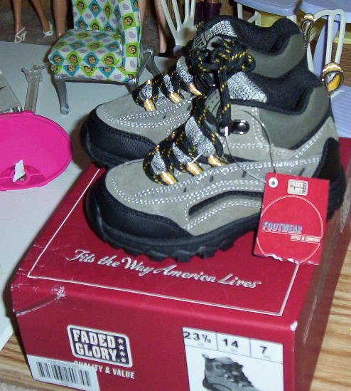 NEW Faded Glory Sz 7 Toddler Boots