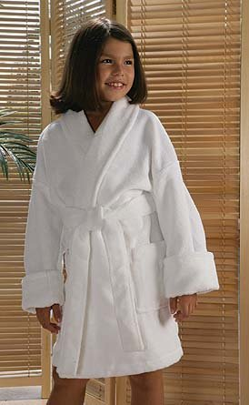 Cypress Childrens Shawl Robe