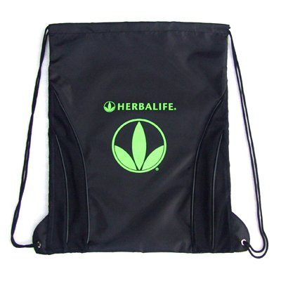 Herbalife String Backpack - Black