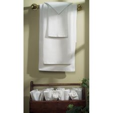 Waffle Weave Bath Towel, White Only
