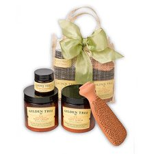 Complete Organic Foot Care Kit Kiran Forest Scent