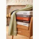 Modern Waffle Weave Blanket/Throw