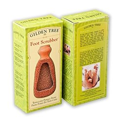 Terra Cotta 2-Sided Footscrubber and Callus Remover