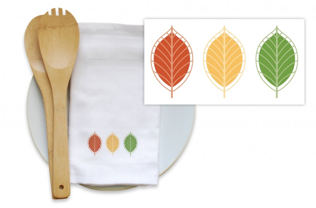 Bamboo Blended Kitchen Towels - Streetlight