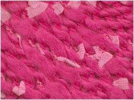 Grignasco Minuetto wool blend yarn #730 hot pink