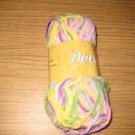 Nova Dove #1003 pink/purpleyellow/green  chenille yarn 50gr
