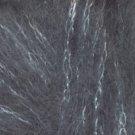 Rico Design Glitz #7 grey  mohair blend yarn - 50 grams