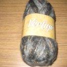 Nova Vertigo #02 grey/black mohair fancy yarn 50gr