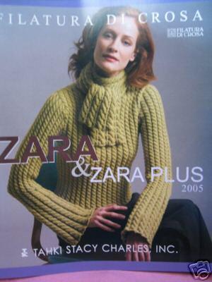 Tahki Stacy Charles Zara & Zara Plus knitting book