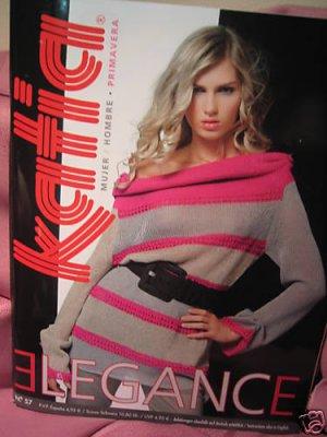 Katia #57spring 2009 men women knitting pattern