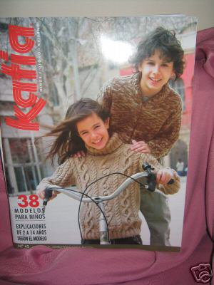 Katia #43 fall winter child fashion knitting pattern