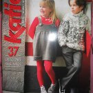 Katia #47 knitting pattern book children fall/winter 08