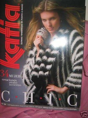 Katia #56 fall winter  womens fashion knitting pattern