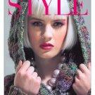 Noro Style Jenny Watson knitting pattern magazine