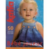 Katia #52 spring/summer babies knitting patterns