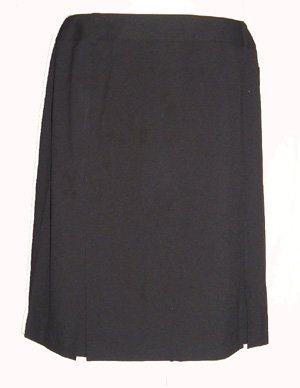 Alfani Black Knee Length Skirt Sz 22