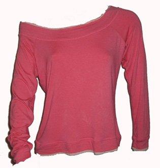 INC Off the Shoulder Pink Top Sz Large