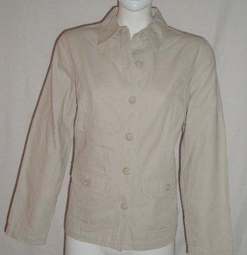 STYLE & COMPANY Khaki Top Jacket  SZ 10