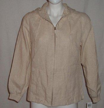 Style & Company Linen Jacket Sz 10