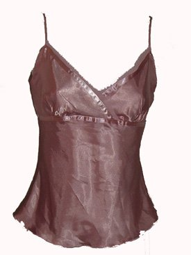 Speechless Pink Satin Camisole Sz Medium