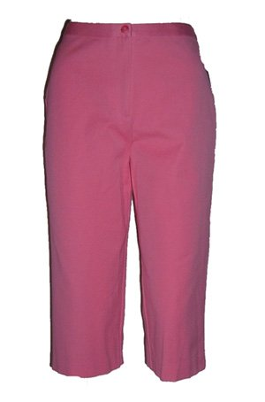 Charter Club Pink Cropped Capris Sz 6