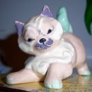 Kitty Cat Kay Finch Calif Pottery Rare Sweet Pastels