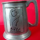 Penguin Pewter Stein Little America Tankard Vintage Marked
