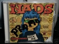 The Nads CD Backasswards art by dirty donny  $5.99 ~ FREE SHIPPING