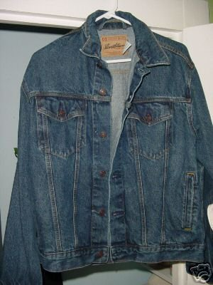 Levis Denim Jean Jacket Mens Size S NM levi's ~ FREE S/H