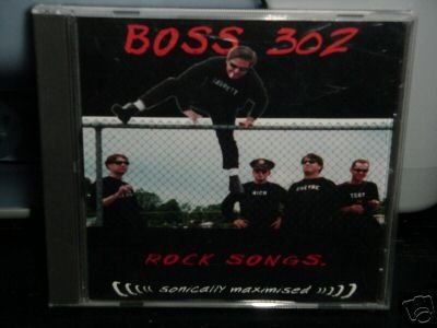 Boss 302 cd Rock Songs GARAGE RAWK Punk 360 twist  $5.99 FREE S/H