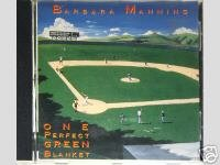 Barbara Manning CD One Perfect Green $9.99 ~ FREE SHIPPING + Lately I keep Scissors