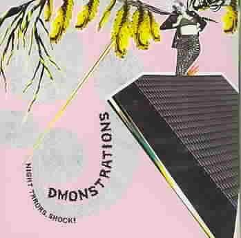 DMONSTRATIONS cd NIGHT TRRORS SHOCK   $9.99 ~ FREE SHIPPING GSL noise