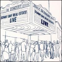 Sunny Day Real Estate cd Live  ~ FREE SHIPPING sub pop OOP