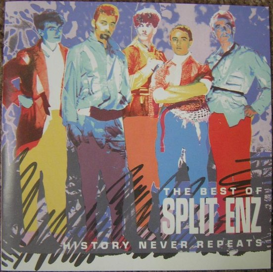 Split Enz CD History Never Repeats $7.99 ~ FREE SHIPPING  TIM FINN