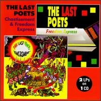 The Last Poets CD Chastisement & Freedom Express $8.99 ~ FREE SHIPPING 2 Lps on 1 CD