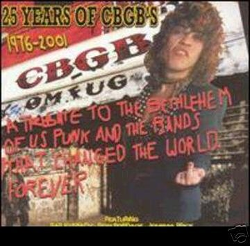 VA:  25 years of CBGB's ~ FREE SHIPPING~ $8.99 patti smith sexgang children