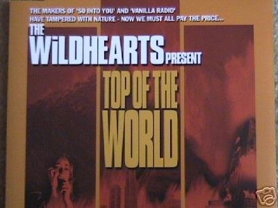 The WildHearts CD Top of the World ~ FREE SHIPPING~ $6.99 ep w/ video Must Be Destroyed ginger
