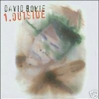 David Bowie CD 1.Outside ~ FREE SHIPPING~ $7.99 brian eno ziggy stardust