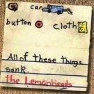 The Lemonheads CD C ~ FREE SHIPPING~ $8.99 Car Button Cloth EVAN DANDO